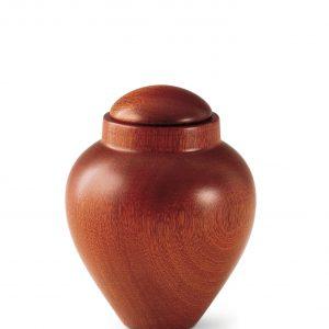 Dieren urnen - Mahoniehout