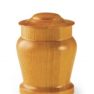 Dieren urnen - Dennenhout