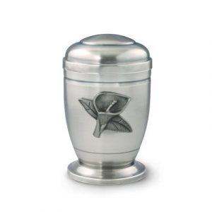 Verzilverde urnen